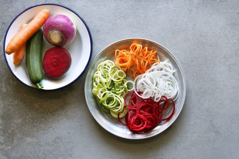 spiralizer salad