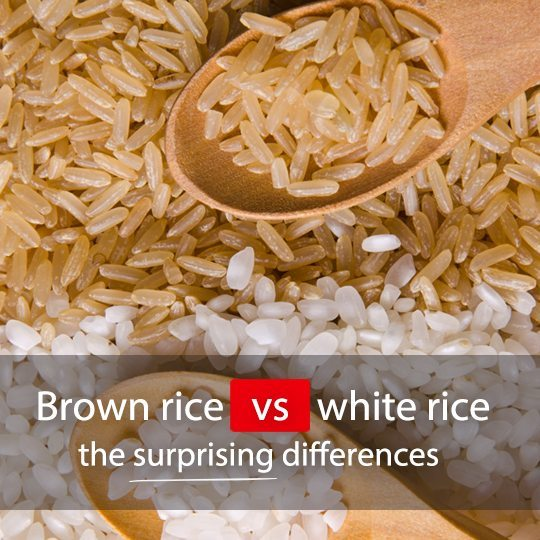 Find out how brown and white rice stack up against each other...