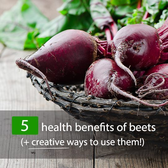 Check out these surprising health benefits of beets...