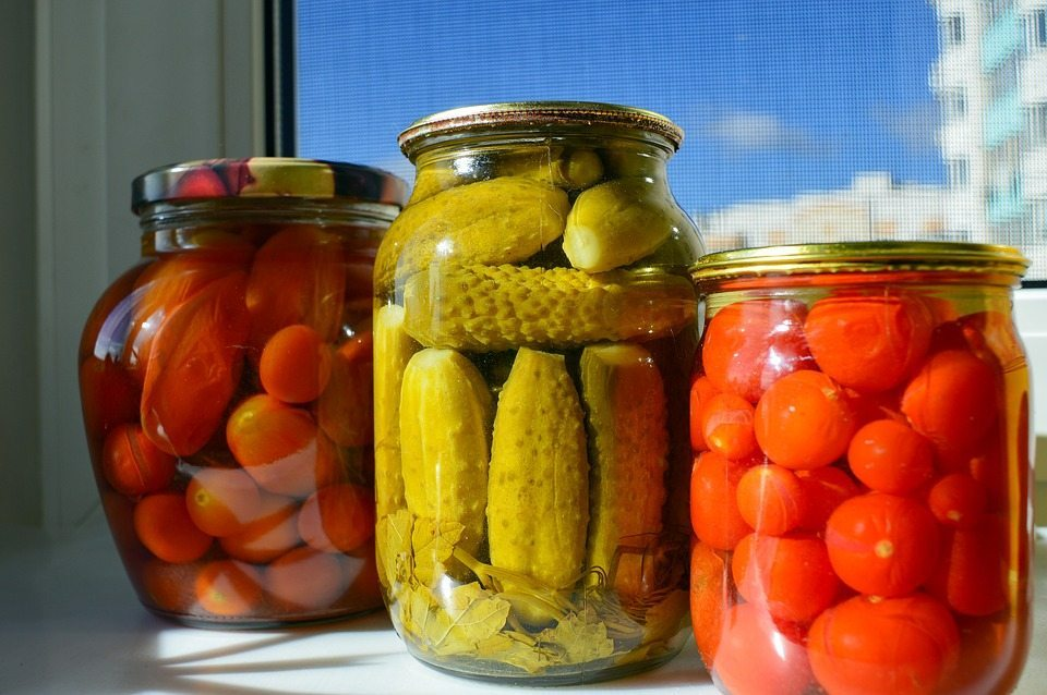Pickled veg