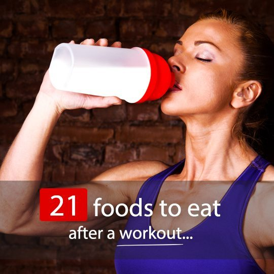 Find out what the most beneficial snacks and meals are to fuel your post-workout recovery...