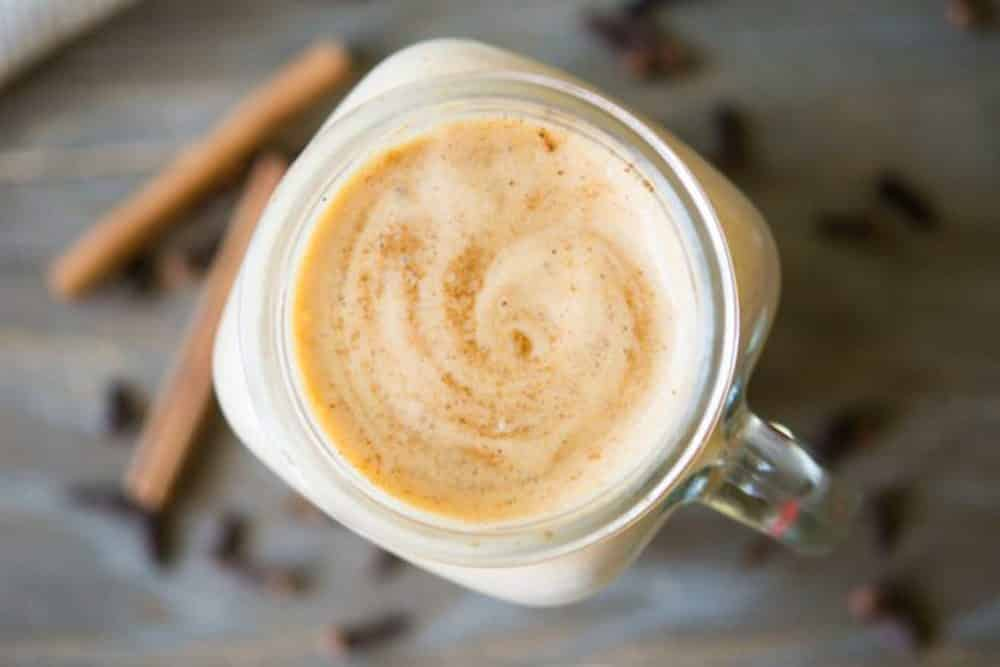 pumpkin spice protein shake