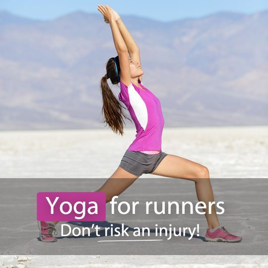 Find out how yoga can help you with running aches and pains and reduce the risk of injury...