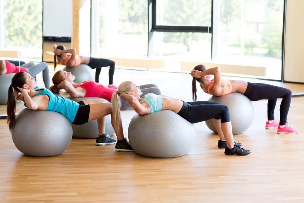 exercise ball class