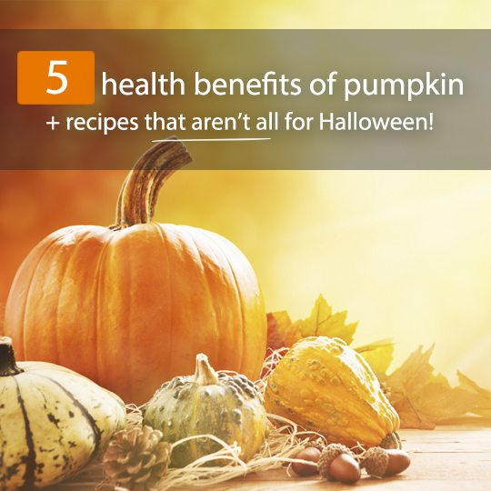 Pumpkins aren't just for Halloween decorations! Full of beta-carotene and other powerful nutrients, they have a number of proven health benefits...