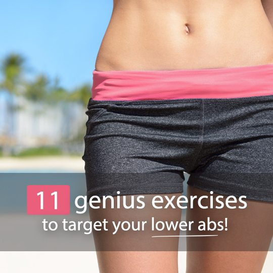 Get a rock hard core with these killer exercises for lower abs!