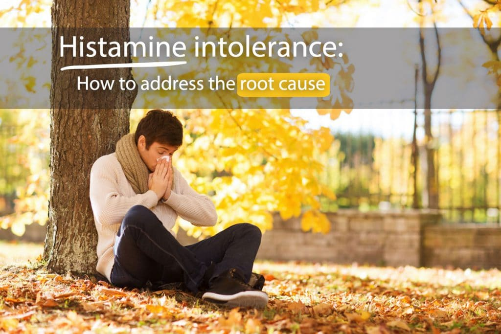 Bugged by histamine intolerance? Find out how to naturally get rid of your symptoms.