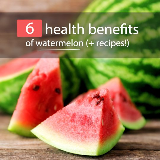 Watermelon is a surprisingly healthy fruit, and comes with a number of impressive health benefits...