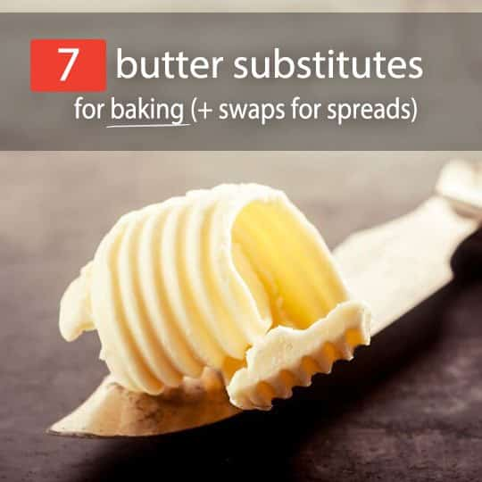 There are several reasons people cut back on, or completely eliminate, butter from their diet. See the top butter substitutes and how you can use them!