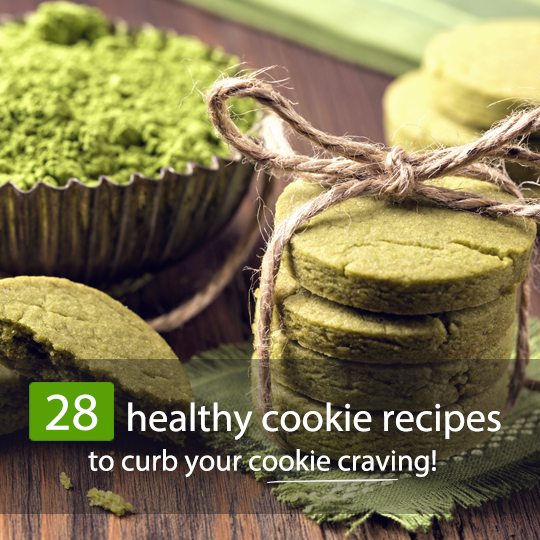 Don't give up cookies if you're trying to eat healthier - bake healthy ones instead!