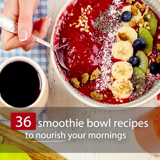 A step up from plain old smoothies, these colorful, vibrant bowls make a fun, nourishing start to your day!