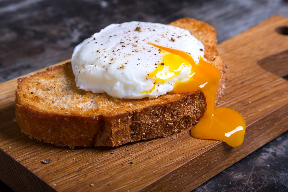 Runny eggs