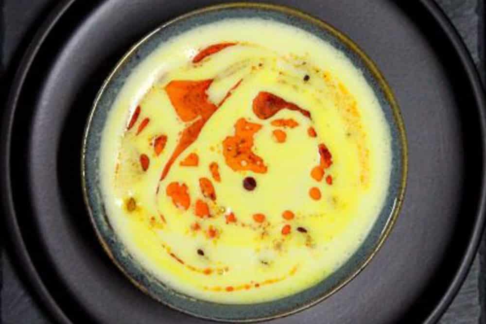 corn miso soup