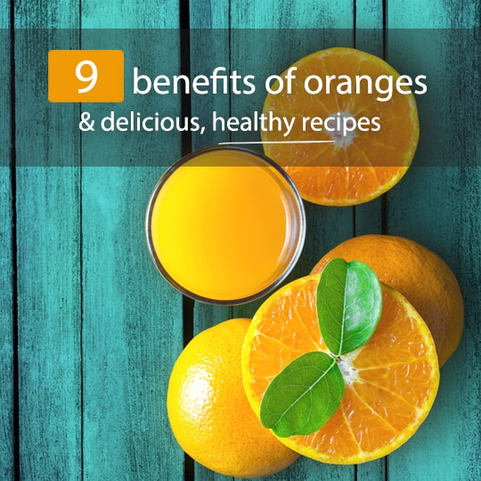 So Much More Than Vitamin C: The Top 9 Health Benefits Of Oranges