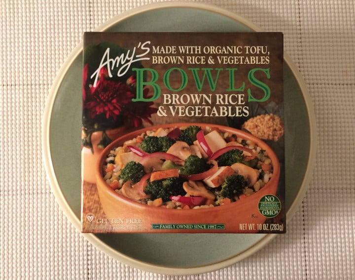 Amy's Organic Brown Rice and Vegetable Bowl Health Frozen Foods