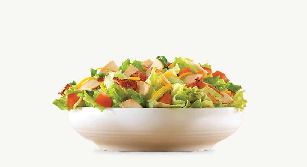 Arby's Roast Turkey Chophouse Salad health fast food