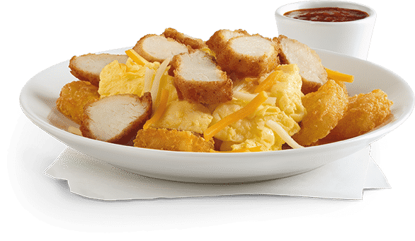 Chick-Fil-A Hash Brown Scramble Bowl health fast food