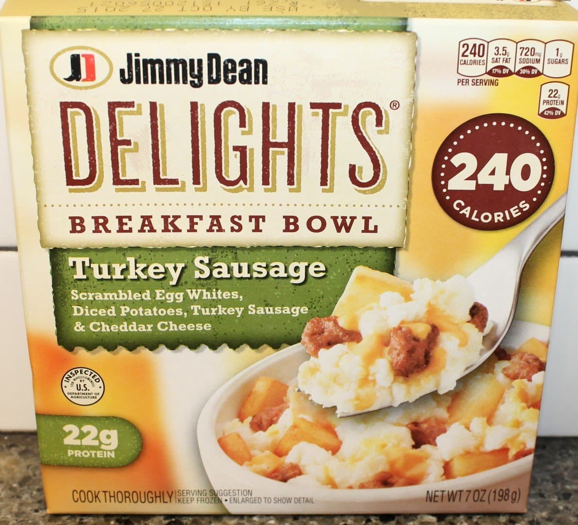 Jimmy Dean Delights Turkey Sausage Breakfast Bowl Health Frozen Foods