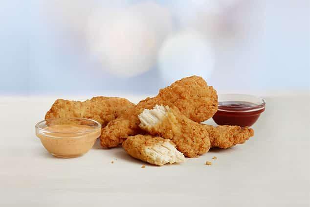 McDonald's Buttermilk Crispy Tenders health fast food