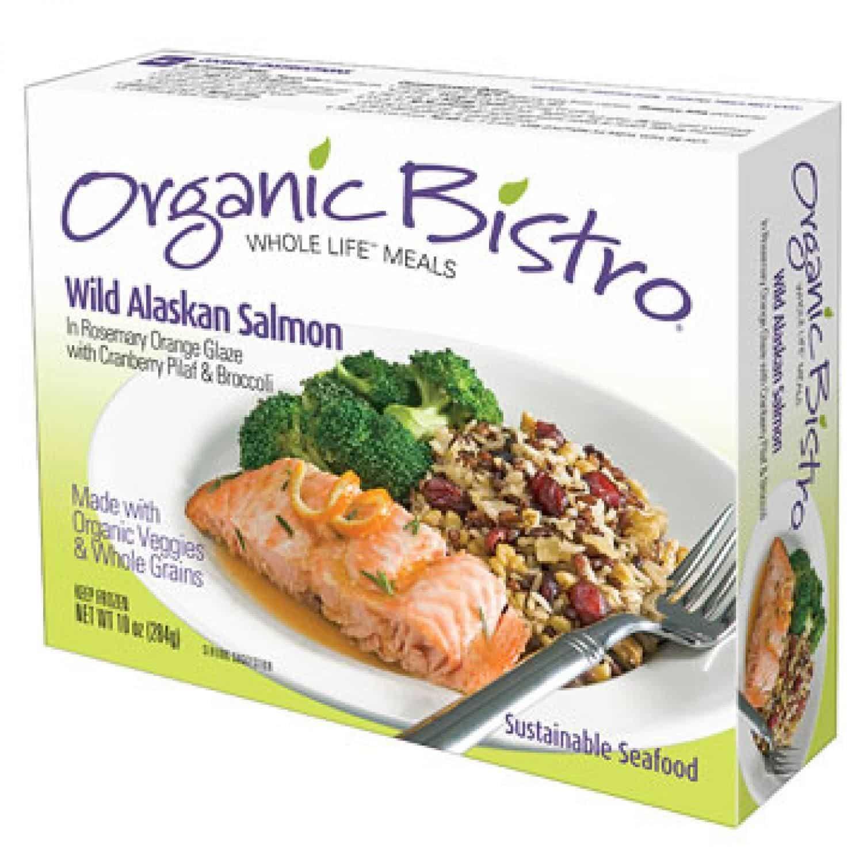 Organic Bistro Wild Salmon Health Frozen Foods
