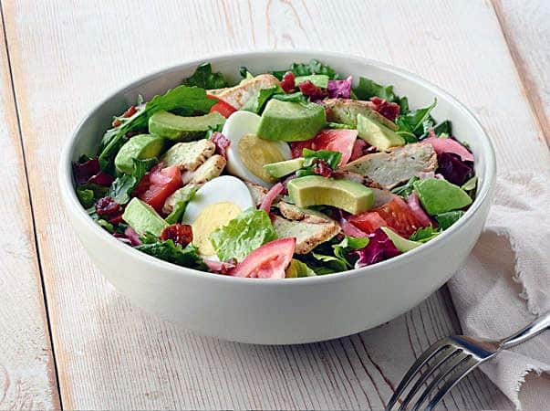 Panera Bread Green Goddess Cobb Salad health fast food