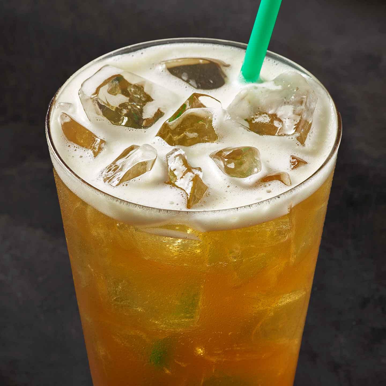 Starbucks Teavana Shaken Pineapple Black Tea Infusion health fast food