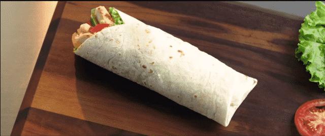 Tim Hortons Chicken Fajita Grilled Wrap