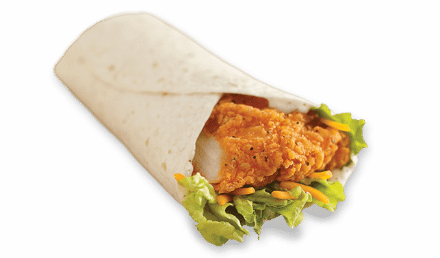 Wendy's Spicy Chicken Wrap health fast food