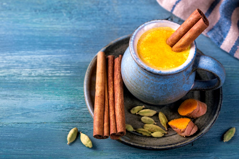 Golden milk food for upset stomach