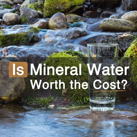 Is Mineral Water Worth the Extra Cost Find out Here