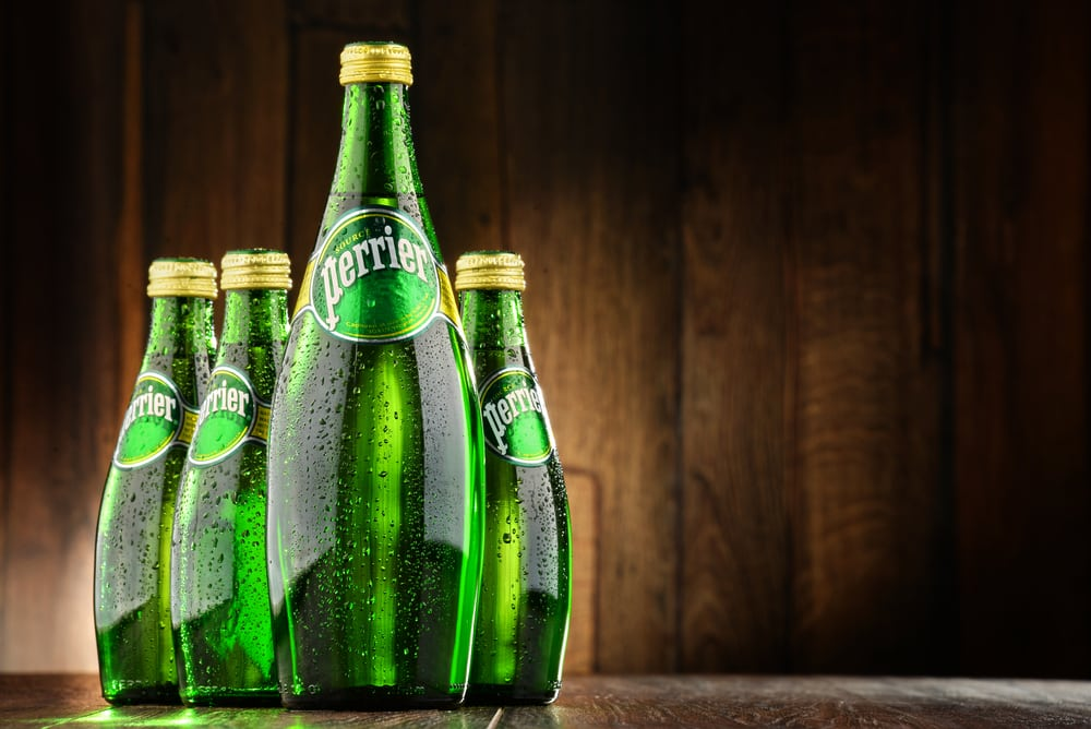 Perrier mineral water benefits