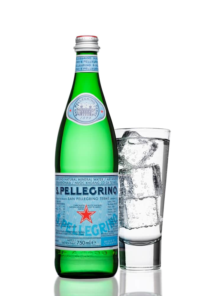 San Pellegrino mineral water benefits