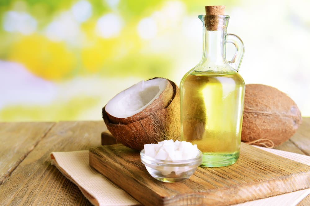 coconut oil contains fatty acid