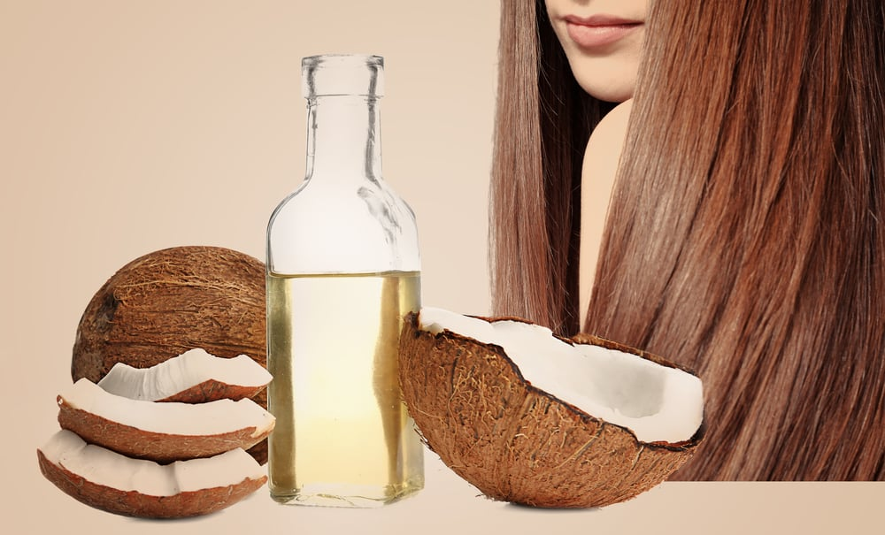 coconut oil for hair directions