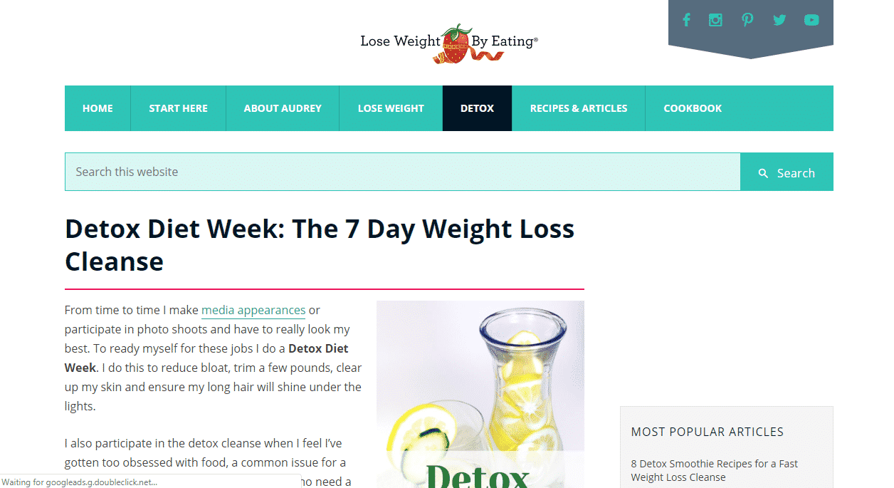 7 Day Detoxification Diet