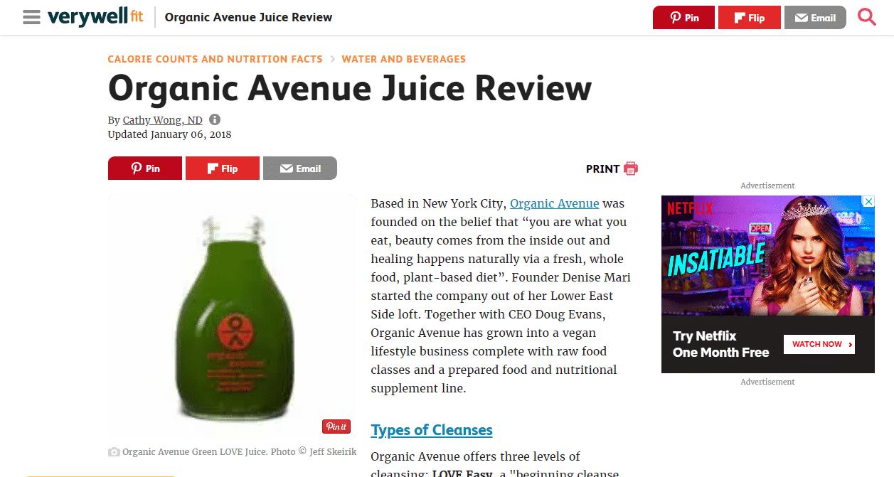 Organic Avenue
