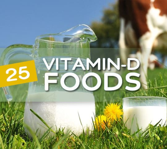 25 Foods High in Vitamin D to Keep You Healthy & Young